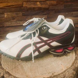 Asics golf cleats shoes